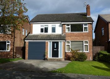 Thumbnail 4 bed detached house for sale in Sandown Crescent, Cuddington, Cheshire