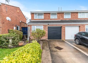 Thumbnail 3 bed semi-detached house for sale in St. Egwine Close, Worcester