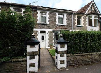 Thumbnail 3 bed terraced house for sale in Merthyr Road, Pontypridd
