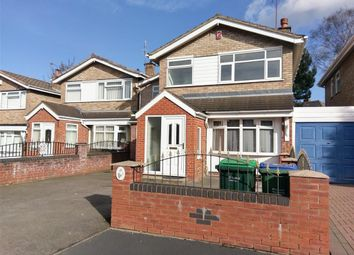 Thumbnail 4 bed detached house for sale in Gillingham Close, Wednesbury