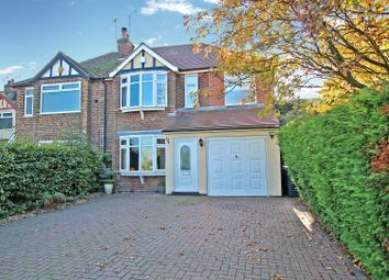 Thumbnail 4 bed semi-detached house for sale in Spring Lane, Mapperley, Nottingham