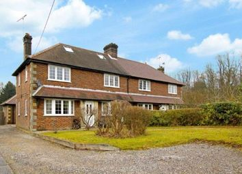 Thumbnail 5 bed semi-detached house for sale in Wallage Lane, Crawley Down, West Sussex