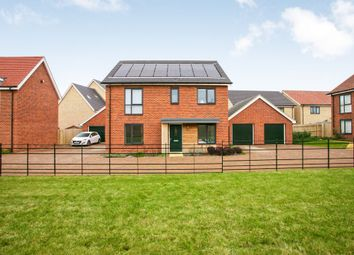 Thumbnail 4 bed detached house for sale in Beaufort Road, Upper Cambourne, Cambridge