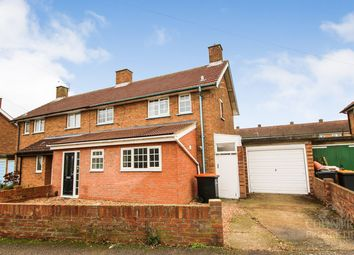 Thumbnail 3 bed semi-detached house to rent in Woodcote, Putnoe, Bedford