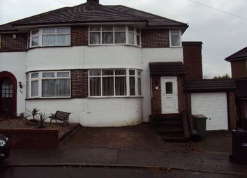 Thumbnail 4 bed semi-detached house to rent in Felstead Close, Luton