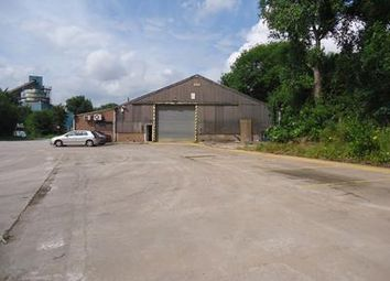 Thumbnail Light industrial to let in Garage Premises & Storage Yard, Hermitage Lane, Mansfield, Nottinghamshire