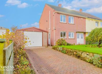 Thumbnail 3 bed semi-detached house for sale in Calder View, Beckermet, Cumbria