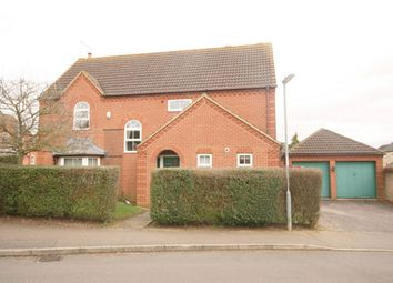 Thumbnail 4 bed detached house for sale in Hocknell Close, Wootton Fields, Northampton, Northamptonshire