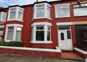 Thumbnail 3 bed terraced house to rent in Winterhey Avenue, Wallasey