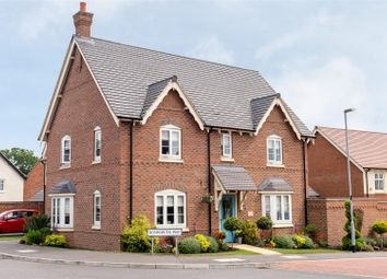 Thumbnail 4 bed detached house for sale in Bosworth Way, Anstey, Leicester