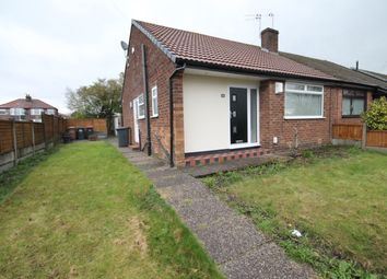 Thumbnail 2 bed semi-detached bungalow to rent in Holdsworth Street, Swinton, Manchester