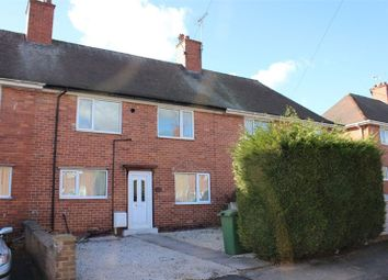 Thumbnail 3 bed terraced house to rent in Fourth Avenue, Edwinstowe, Mansfield