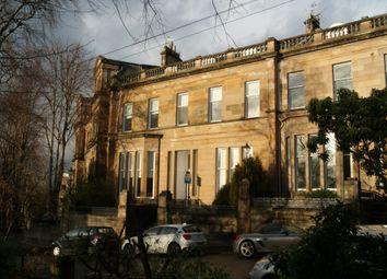 Thumbnail 2 bed flat to rent in Cleveden Crescent, Kelvinside
