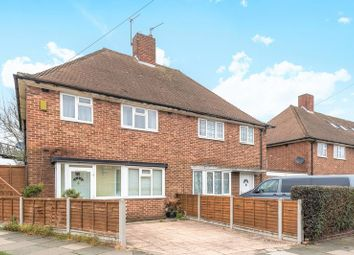 Thumbnail 3 bed semi-detached house for sale in Linkway, Raynes Park