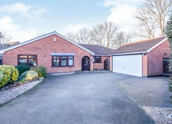 Thumbnail 4 bedroom detached bungalow for sale in Pennant Road, Burbage, Hinckley