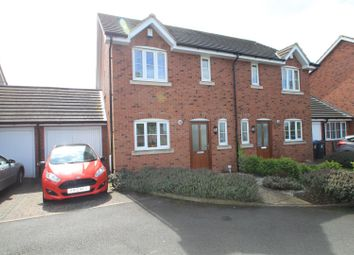 Thumbnail 3 bed semi-detached house for sale in The Beeches, Burbage, Hinckley
