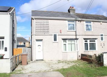 Thumbnail 3 bed semi-detached house for sale in Queens Road, West Park, Plymouth