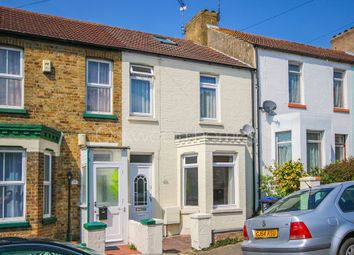 Thumbnail 2 bed terraced house for sale in Hengist Avenue, Margate