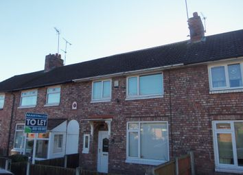 Thumbnail 3 bedroom terraced house to rent in Vale Road, Woolton, Liverpool