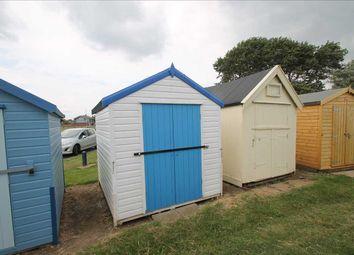 Thumbnail Property for sale in Beach Hut 331, Brackenbury Cliffs, Felixstowe