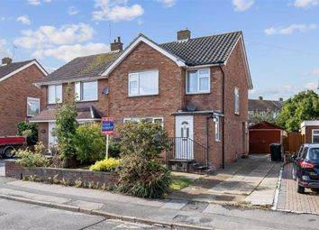 Thumbnail 3 bed semi-detached house to rent in Northumberland Avenue, Kennington, Ashford