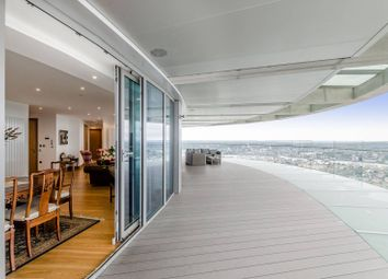 Thumbnail 3 bed flat for sale in Crossharbour Plaza, Canary Wharf