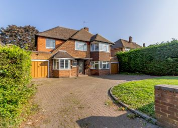 Thumbnail 4 bed detached house for sale in Hare Lane, Esher, Surrey