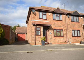 Thumbnail 4 bed semi-detached house for sale in Edgcott Close, Luton