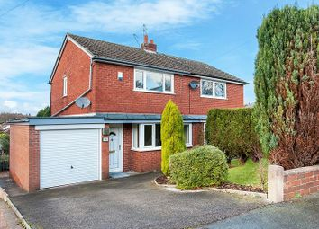 Thumbnail 2 bed semi-detached house for sale in Bankhouse Drive, Congleton