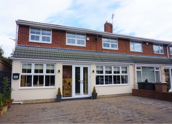 Thumbnail 4 bed semi-detached house for sale in Meadway, Newcastle Upon Tyne