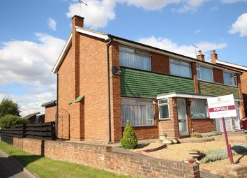 Thumbnail 4 bedroom semi-detached house for sale in Edinburgh Gardens, Claydon, Ipswich, Suffolk
