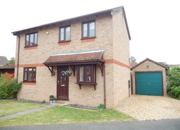 Thumbnail 3 bed detached house for sale in The Brambles, Deeping St. James, Peterborough
