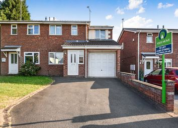 Thumbnail 3 bed semi-detached house to rent in Finch Close, Woodville, Swadlincote