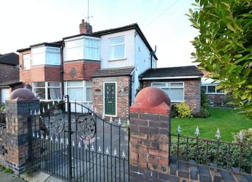 Thumbnail 3 bed semi-detached house for sale in Harrowby Road, Swinton, Manchester