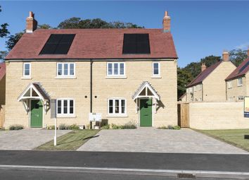 Thumbnail 3 bed semi-detached house for sale in Plot 2, Woodlands, Marriott Close, Wootton-By-Woodstock, Oxfordshire