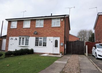 Thumbnail 2 bedroom semi-detached house for sale in Ingliston Close, Derby
