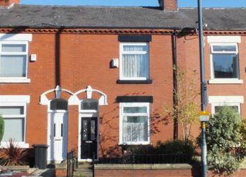 Thumbnail 2 bed terraced house for sale in Stockport Road, Denton, Manchester