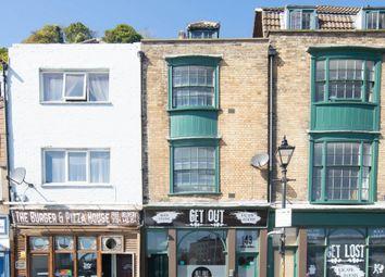 Thumbnail 3 bed maisonette to rent in Snargate Street, Dover