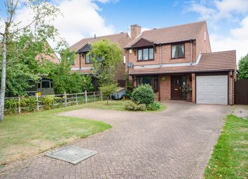 Thumbnail 4 bed detached house for sale in Larkspur Road, Lincoln