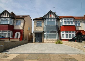 Thumbnail 3 bedroom end terrace house for sale in New Park Avenue, London