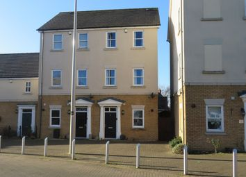 Thumbnail 3 bed town house for sale in Rowditch Furlong, Redhouse Park, Milton Keynes