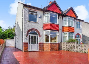 3 bed semi-detached house for sale in Wynn Road, Penn, Wolverhampton WV4