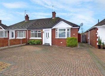 Thumbnail 2 bedroom semi-detached bungalow for sale in Hassall Road, Alsager, Stoke-On-Trent