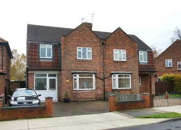 Thumbnail 3 bedroom semi-detached house for sale in Brompton Road, York
