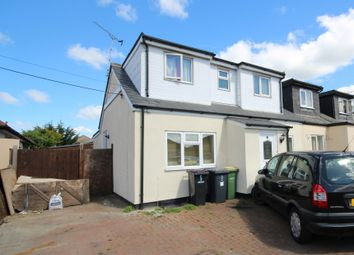 Thumbnail 4 bed semi-detached house for sale in Leicester Avenue, Rochford, Essex
