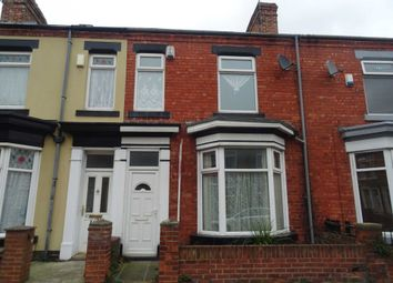 Thumbnail 3 bed terraced house to rent in Carlton Street, Hartlepool