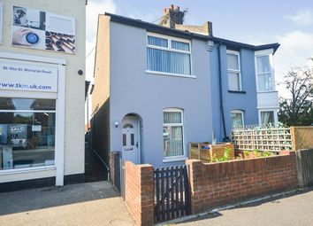Thumbnail 1 bedroom semi-detached house for sale in St. Richards Road, Deal, Kent