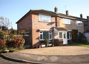 Thumbnail 4 bed end terrace house for sale in Fishers Close, Blandford Forum