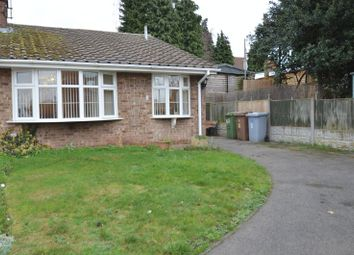 Thumbnail 2 bed semi-detached bungalow for sale in St. Peters Drive, Rainworth, Mansfield