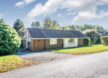 Thumbnail 3 bed bungalow for sale in Crampmoor, Romsey, Hampshire